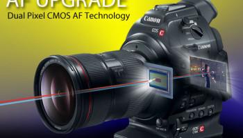 Canon C100 upgrade