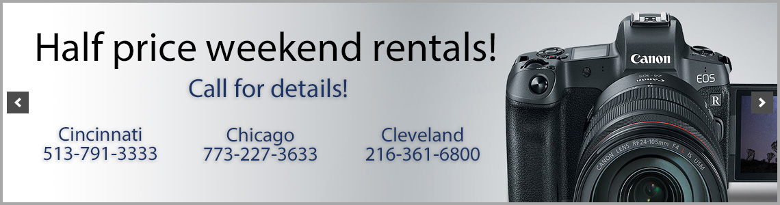 Half off weekend rentals