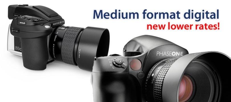 Medium Format Digital Rental