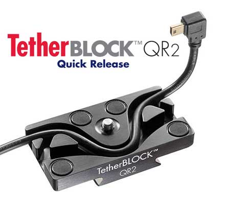 TetherBLOCK USB cable management